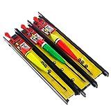 Hergon Flotteur Float Tackle Floats, 1 Paquet de 3 Ensembles de Ligne dérivante Accessoires de pêche