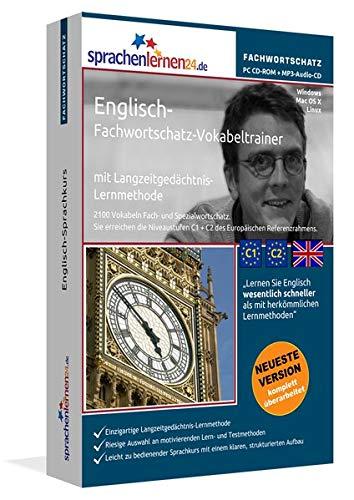 Englisch-Fachwortschatz-Vokabeltrainer mit Langzeitgedächtnis-Lernmethode von Sprachenlernen24.de: 2100 Vokabeln und Redewendungen. PC CD-ROM + MP3-Audio-CD. Für Windows 8,7,Vista,XP/Linux/Mac OS X