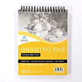 "Bellofy Drawing Paper Pad 9"" x 12"" 