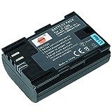 DSTE Recargable Litio Batería Compatible para Canon LP-E6N LP-E6NH LPE6N LP E6N
