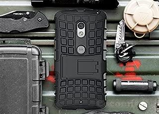 Cocomii Grenade Armor Motorola Droid Maxx 2/Moto X Play Case New [Heavy Duty] Premium Tactical Grip Kickstand Shockproof Bumper [Military Defender] Full Body Rugged Cover for Droid Maxx 2 (G.Black)