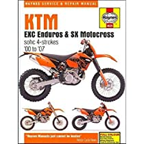 KTM EXC Enduro & SX Motocross, '00-'07 (Haynes Powersport)