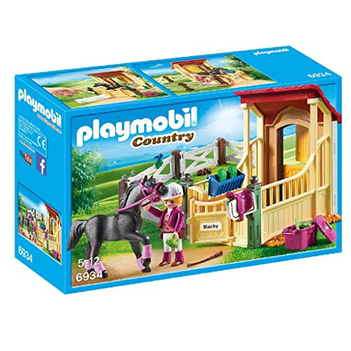 PLAYMOBIL Country 6934 - Arabier met paardenbox