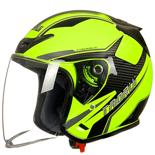 Bicicletas para mujer, cascos de motocicleta, anti-niebla y cálidos cascos de media cara, cascos de deportes de ocio para adultos, cascos protectores ajustables, equipo de seguridad al aire libre