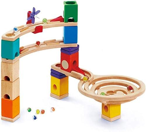 LINGLING-Verfolgen Kinderspielzeug Kampfspur leuchtendes Spiel Ball Geschenk aus Holz (Farbe   58 Accessories)