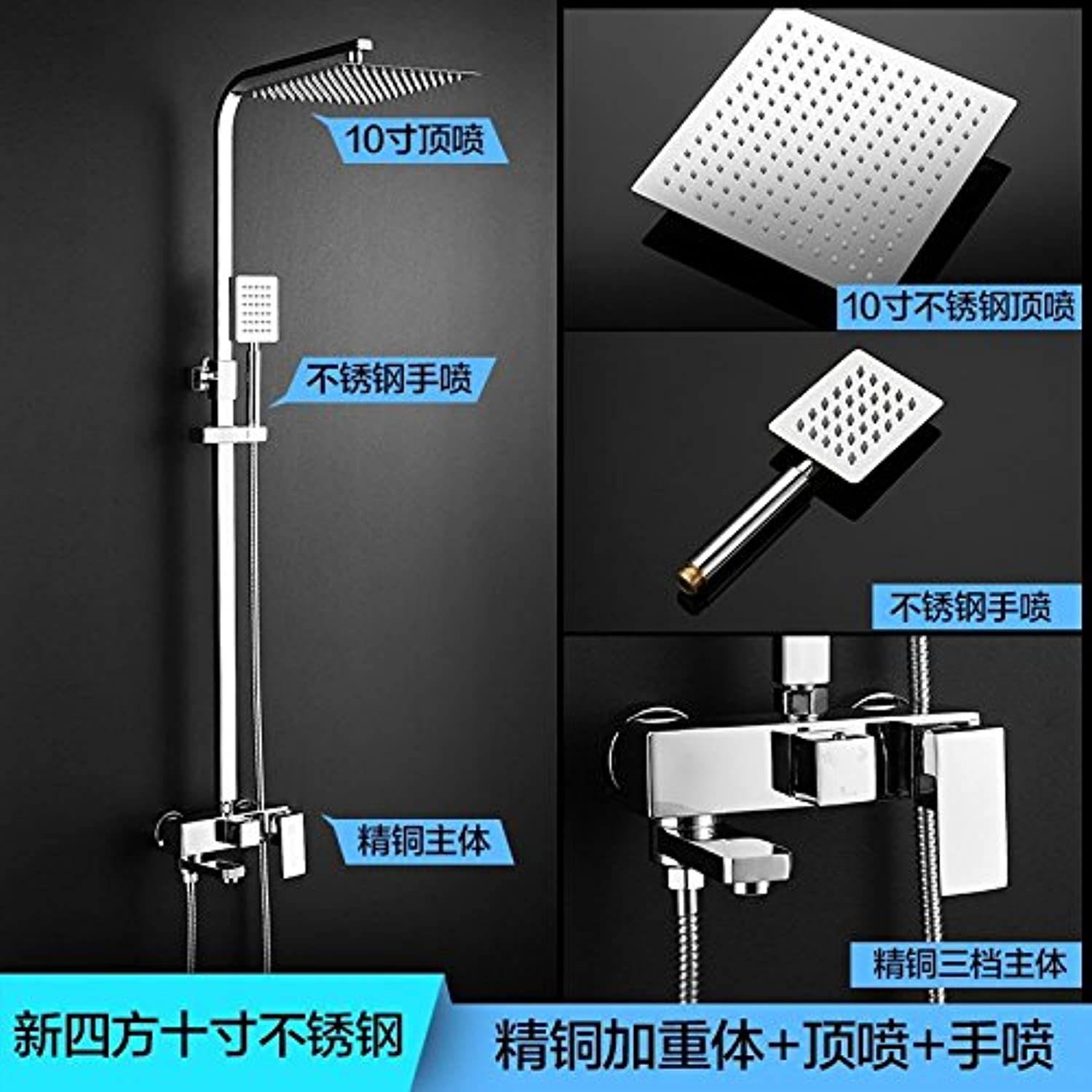 Gyps Faucet Basin Mixer Tap Waterfall Faucet Antique Bathroom Mixer Bar Mixer Shower Set Tap antique bathroom faucet Shower Kit booster sprinklers all brass faucets showers heated rain for home wall s