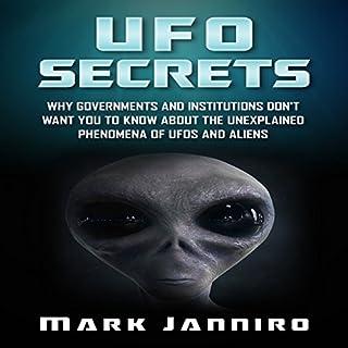 UFO Secrets audiobook cover art