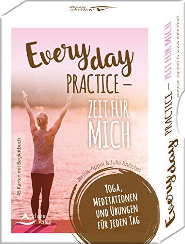 Everyday Practice – Zeit für mich: Yoga, Meditationen und Übungen für jeden Tag - 45 Karten mit Begleitbuch