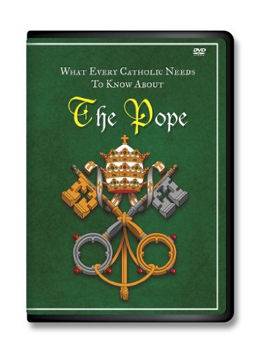 What Ecery Catholic Needs to Know About the Pope DVD, Catholic Church-Saint Peter- Pope Francis-Shepherd-Satan-Catholic-Catholic Answers-Catholic Saints-Catholic Prayers-Catholic Mass-Catholic Catechism-Bible Basics for Catholics-Roman Pontiffs