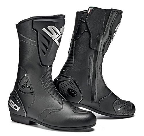 Sidi Black Rain Motorradstiefel wasserdicht 38 Schwarz