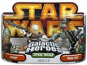 Star Wars Galactic Heroes Episode 2 Junior Figure 2 Pack Boba Fett & Dengar