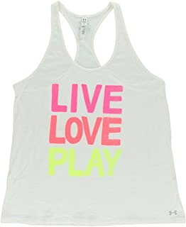 Under Armour Women Live Love Play Tank Top white XL