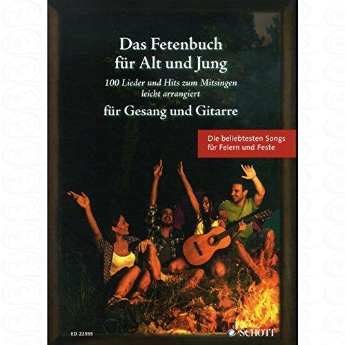 Das Fetenbuch fuer Alt und Jung - arrangiert für Gesang und andere Besetzung - Gitarre - Akkorde [Noten/Sheetmusic]