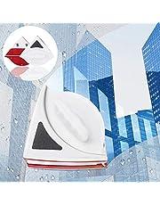 Charminer Limpiador de ventanas magnetico, Cepillo de limpieza doble cara con Cuerda Anti-caída, Limpiaparabrisas Adecuado para Ventanas Vidrio del hogar Herramientas para 10-20mm