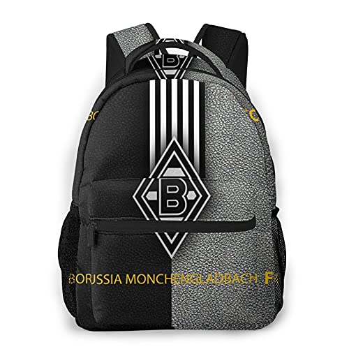 Monche-ngladbach Freizeitrucksack Schultasche Reise Sport Fitness Rücken Computer Rucksack Ergonomisch Leicht und Vielseitig