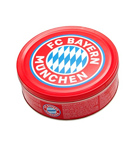 FC Bayern München Butter Cookies in Metalldose, 1er Pack (1 x 454g)