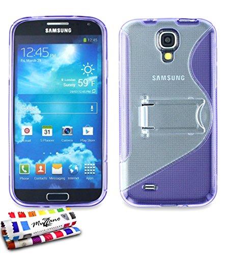 MUZZANO-Custodia con Supporto per Samsung Galaxy Note/S4 Advance, Colore: Viola