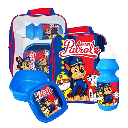 Paw Patrol Here to Help 3 Piece Lunch Bag Set