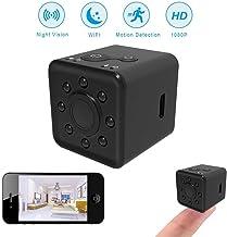 GXSLKWL Spy Camera Wireless Hidden WiFi Camera, HD 1080P Sports Mini DV Video Recorder Security Surveillance Portable Pock...