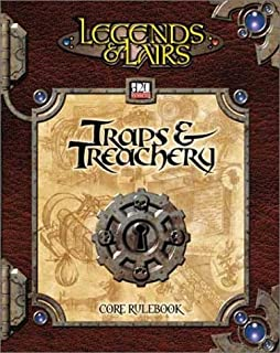 Traps & Treachery (Dungeons & Dragons d20 3.0 Fantasy Roleplaying)