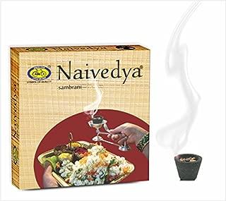 Naivedya Sambrani - Sambrani Cup and Holder Inclusive - Net 12 Sambrani
