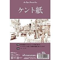 マルマン 絵手紙 アートペーパー ポストカードサイズ ケント紙 30枚 S145C 【まとめ買い5冊セット】