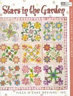 Stars in the Garden: Fresh Flowers in Applique
