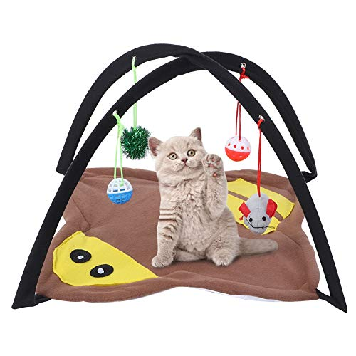 Boquite Nido para Mascotas, Cama para Mascotas, Gato para Mascotas, Tienda de calefacción Plegable para Perros pequeños Casa de Temperatura Constante Cama de Juego para Todas (USB)