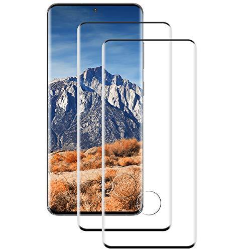 [2 Stück] Panzerglas Schutzfolie für Samsung Galaxy S20, 9H-Härte, Anti-Kratzer, Anti-Öl,Blasenfrei, Panzerglasfolie für Galaxy S20