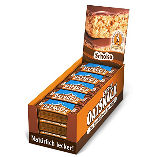 Best Body Nutrition Davina Oat Snack Riegel, Schoko, 15 Riegel á 65g