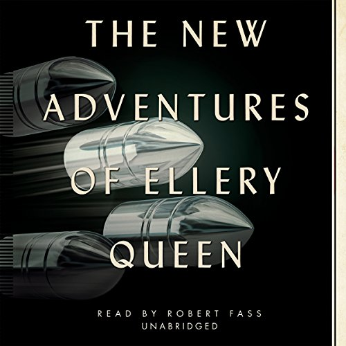 The New Adventures of Ellery Queen audiobook cover art