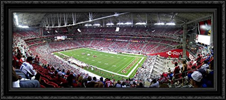 University of Phoenix Stadium 40x18 Large Black Ornate Wood Framed Canvas ArtHome of the Arizona Cardinals