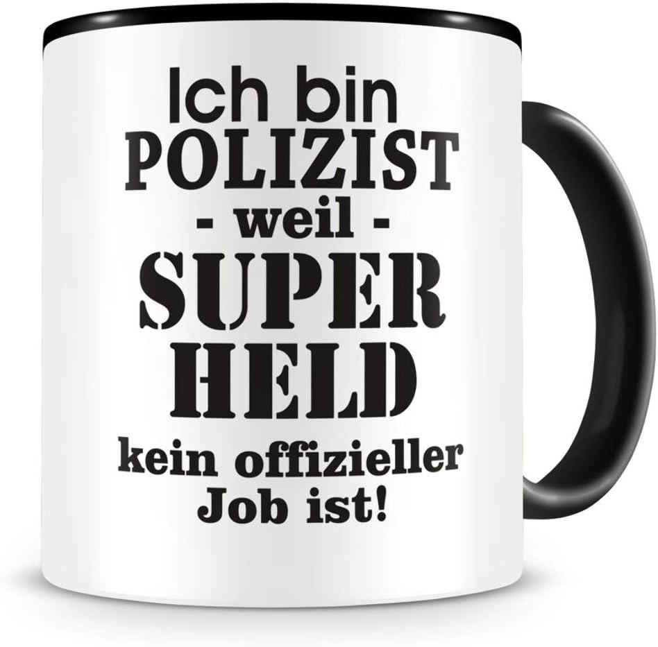 Kaffeebecher für Polizisten