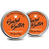 Beard Balm Conditioner for Men - Wild Willie's Beard Butter - Amazing Beard Balm with 13 Natural Locally Sourced Ingredients to Condition and Treat Your Beard or Mustache at The Same Time. 2oz (2)