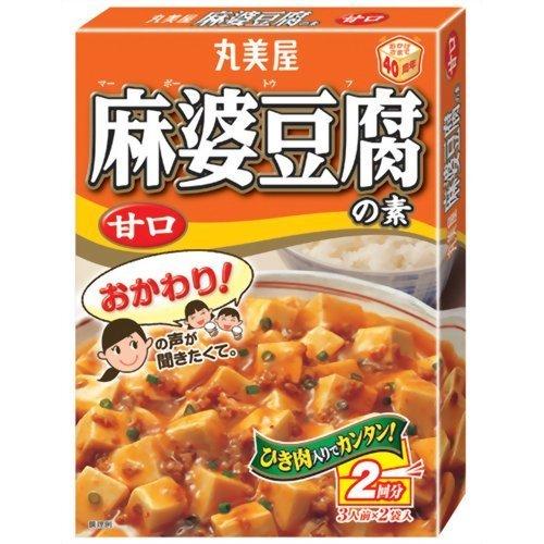 丸美屋食品工業株式会社 丸美屋 麻婆豆腐の素(甘口) 162g箱 ×60個