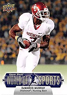 DeMarco Murray football card (Oklahoma Sooners NCAA) 2011 Upper Deck World Sports #114