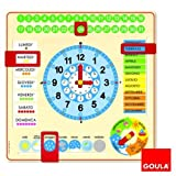 Goula 51310 - Orologio Calendario Italiano