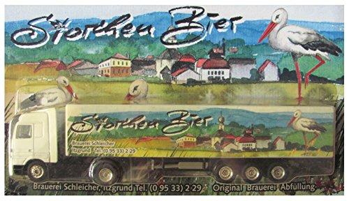 Unbekannt Brauerei Schleicher Nr.01 - Storchen Bier - MB Actros - Sattelzug