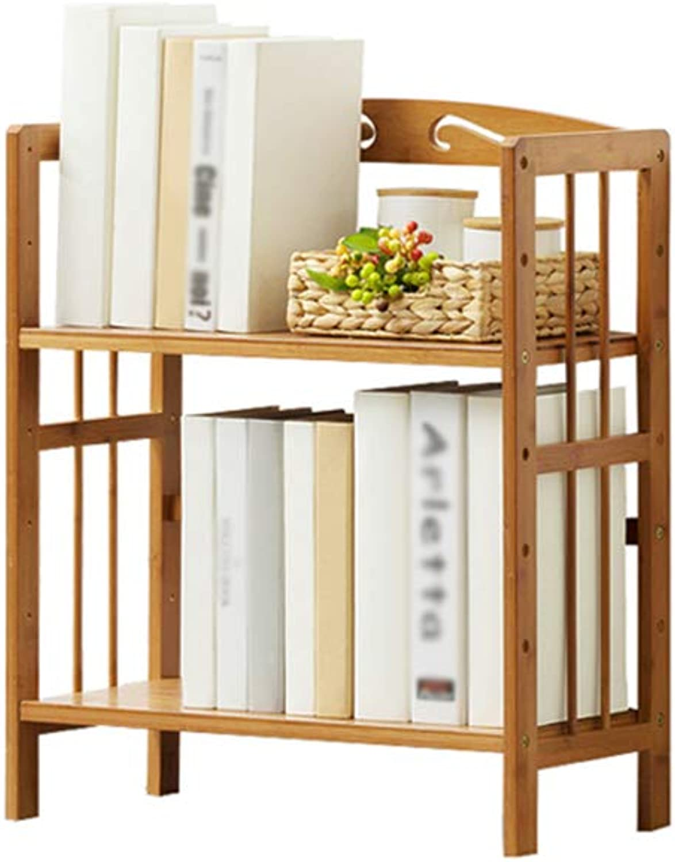 MING REN Bookshelf - Bookshelf - Multi-Storey Floor Shelves, Wooden Shelves, Student Bookshelf, Student Bookcase Storage Shelf (Size   50x25x60cm)