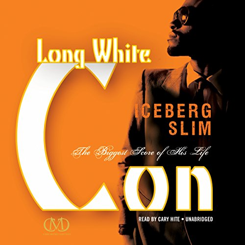 Long White Con audiobook cover art
