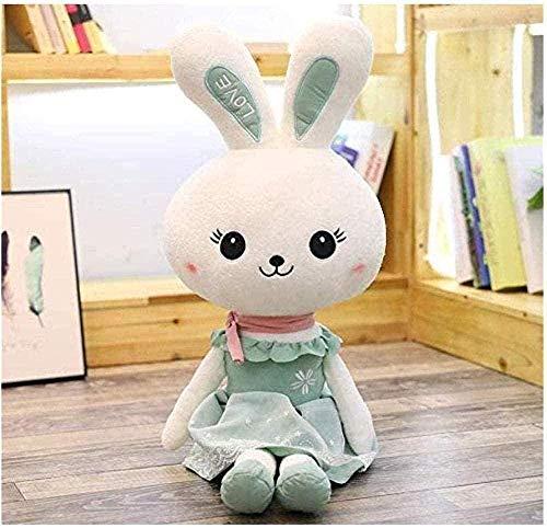 NC165 Peluche de Juguete Princesa Conejo muñeca Lindo Conejo Lindo Conejo Ragdoll Belleza Conejo muñeca Regalo de cumpleaños Femenino 60cm