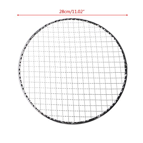 Best Bargain Leidersty Disposable BBQ Grill Mesh Wire Net for Meat Fish Vegetable Tool - Outdoor Cam...