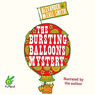 The Bursting Balloons Mystery cover art