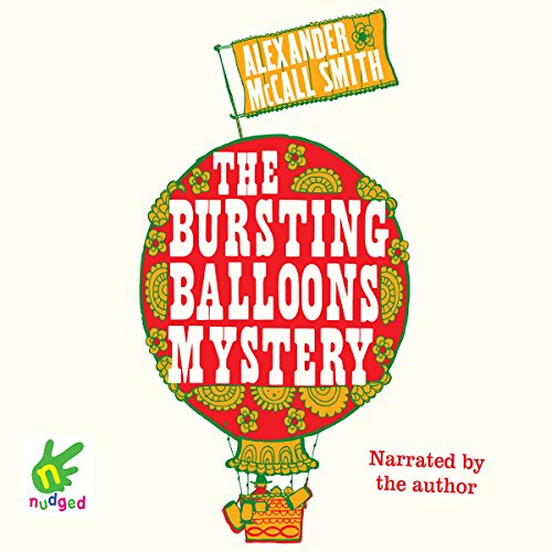 The Bursting Balloons Mystery audiobook cover art