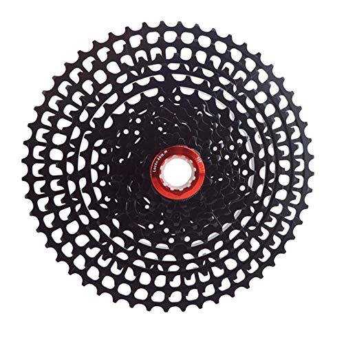 Casete de Bicicleta Ultraligero MTB 12 Velocidades 11-52T Cassette Bicicleta Rueda Libre Bicicleta De Montaña 12 S Piñón Adecuado para Sistema HG