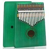 HYMNOUN Kalimba Marimba Marimba mit 17 Tasten, massives Mahagoni-Holz, professionelles Daumenklavier...