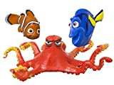 SwimWays Disney Finding Dory Diving Toys - Kids Pool Toys - Finding Dory Diving Rings Red, 8'