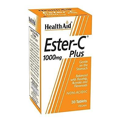 HealthAid Ester C 1000mg Plus - 30 Tablets