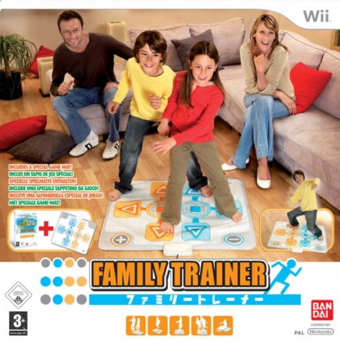 Family Trainer - Double Challenge (Aktionsmatte + Spiel)