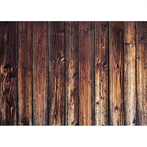 Fondos de fotografía de Vinilo Props Piso de Madera Tablones de Madera Fondo de Estudio fotográfico temático A8 9x6ft / 2.7x1.8m